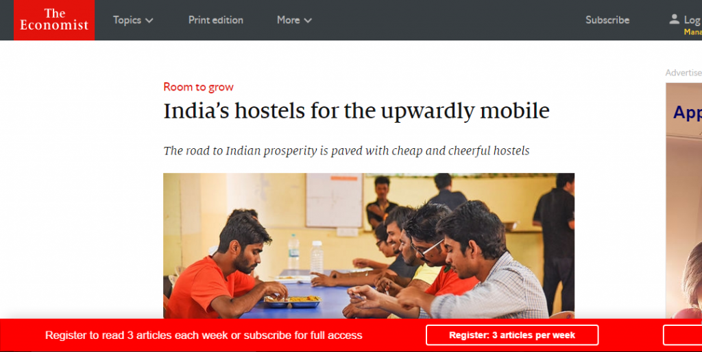 Aarusha Homes @ economist