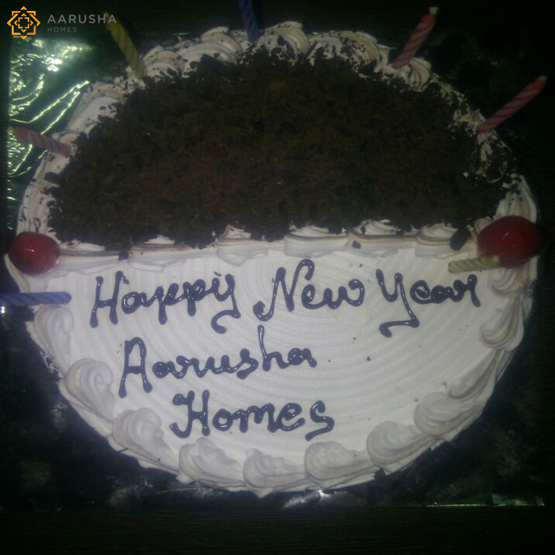 Aarusha Homes New Year Celebration