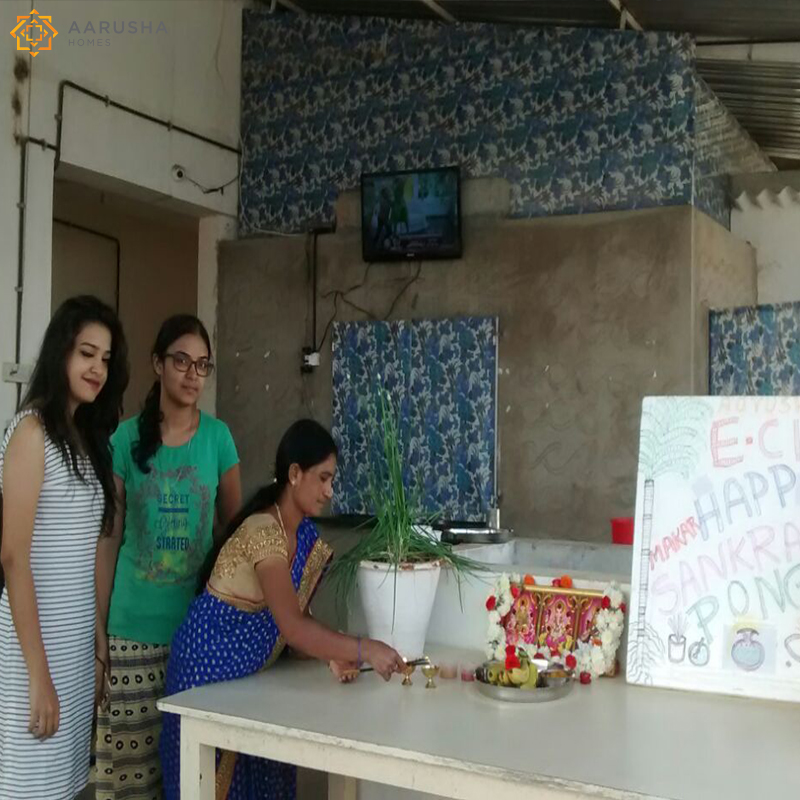 Aarusha Homes Pongal Celebration